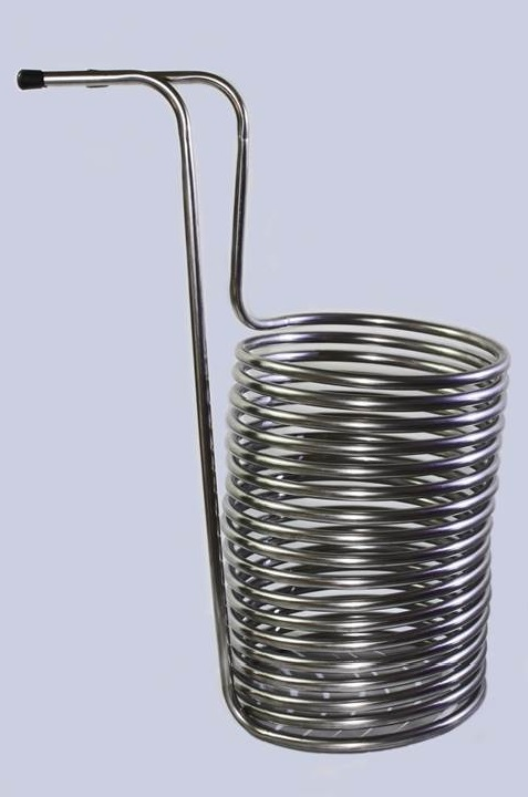 Stainless steel wort chiller ′ fittings inc